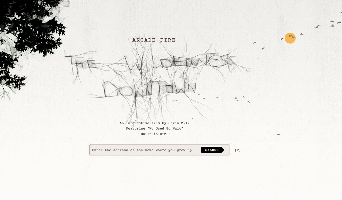 arcade fire the Wilderness downtown