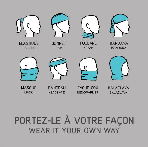 foulards-tubulaires
