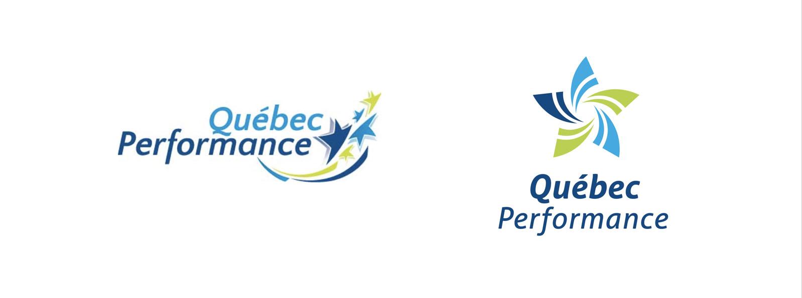 nouveau logo gymnastique quebec performance
