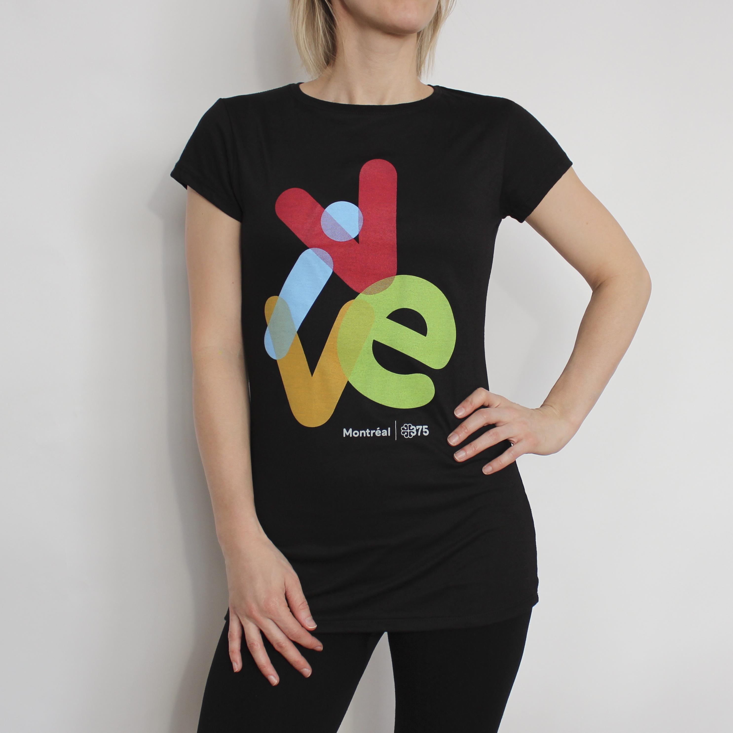 t-shirt officiel du 375 e anniversaire de montréal