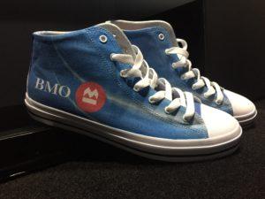 souliers personnalisés entreprise
