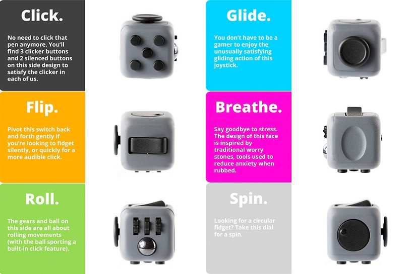 objet pub fidget cube