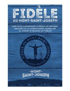 fidèle au mont-saint-joseph