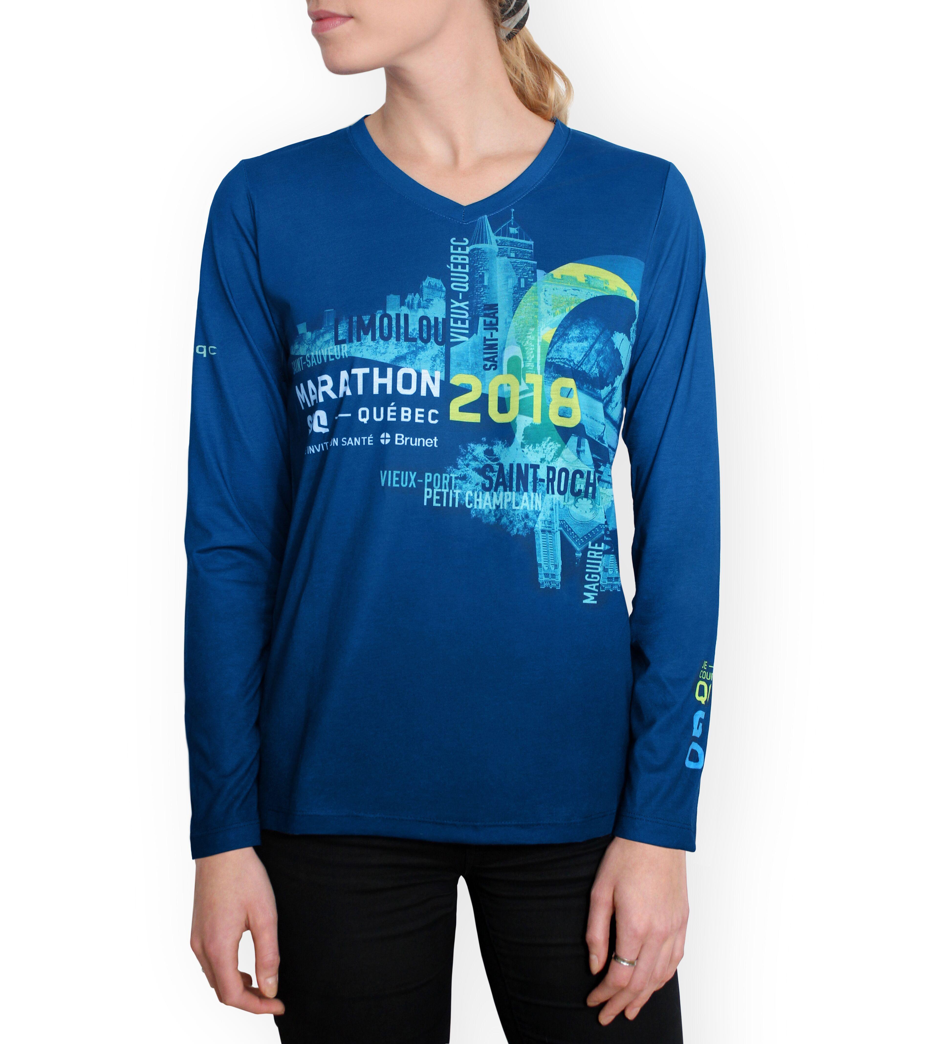 t-shirt du marathon ssq de québec