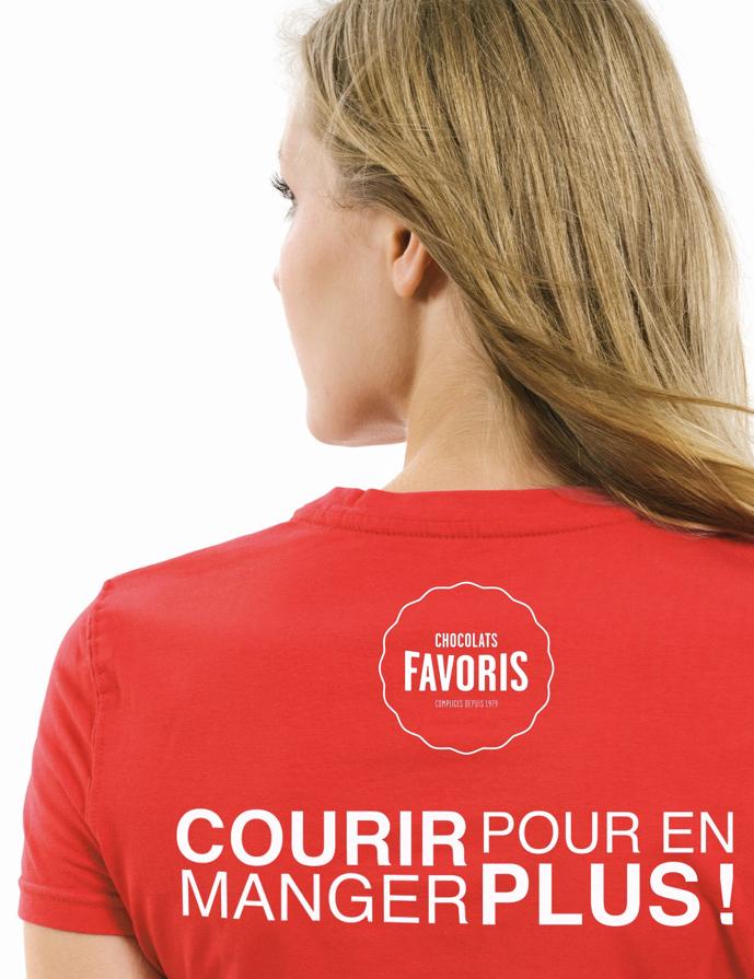 t-shirt+chocolats+favoris