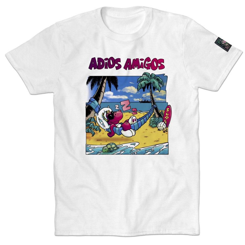 T-shirt Humeur Design Adios Amigos