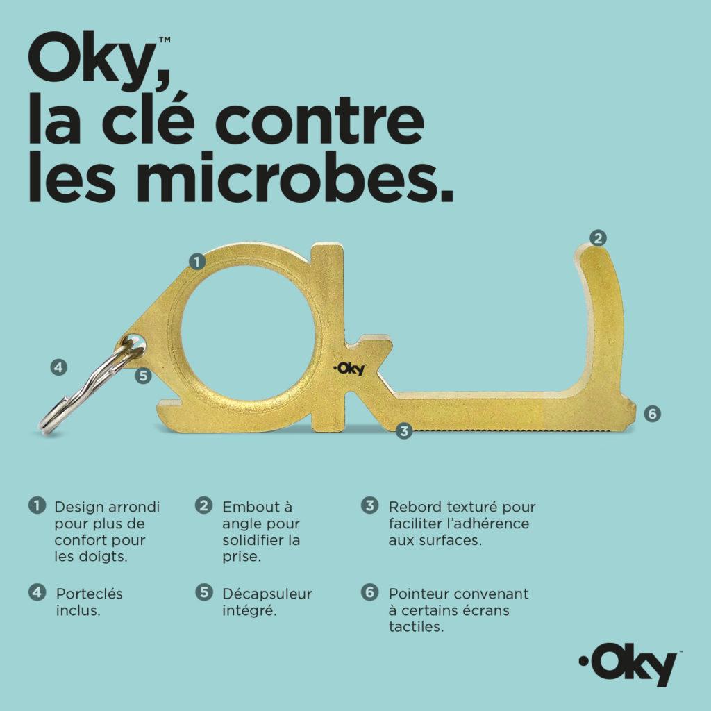 Oky clé antimicrobienne